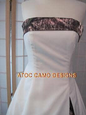 AE-11 Dutton Bodice Front Mossy Oak Break Up (image)