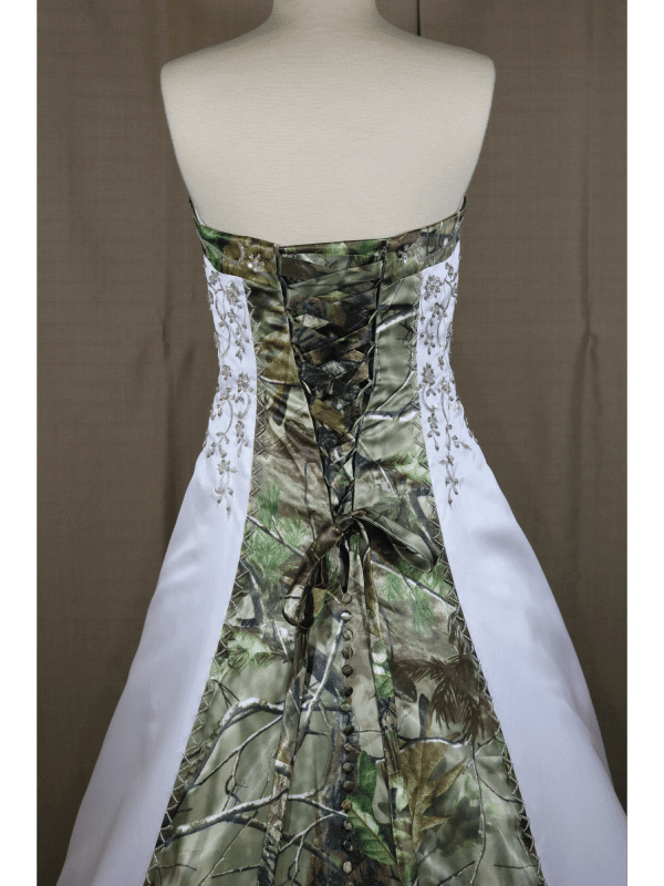 ATOC-0910 Elizabeth RHGHD Bodice Back Camo Gown (image)