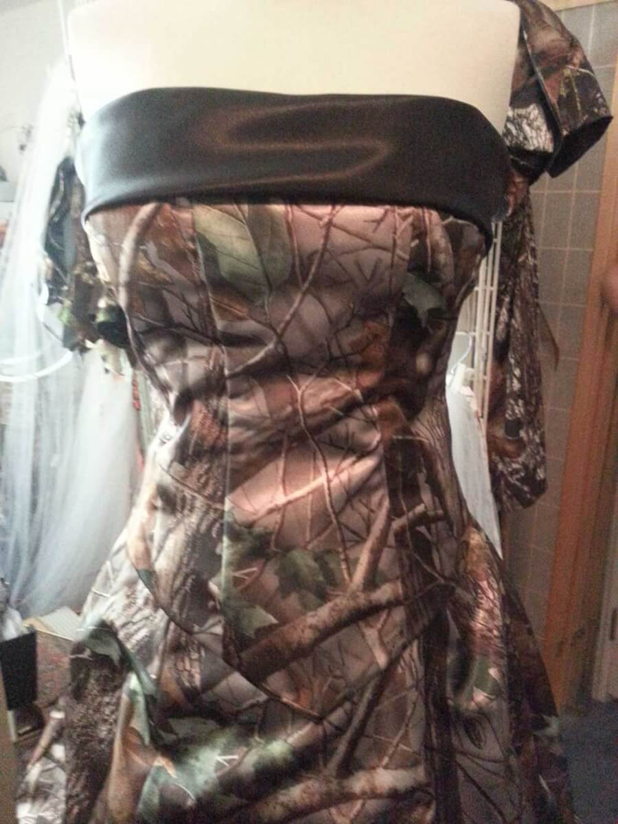 ATOC-32 Courtney Optional Bodice Band Camo Gown (image)