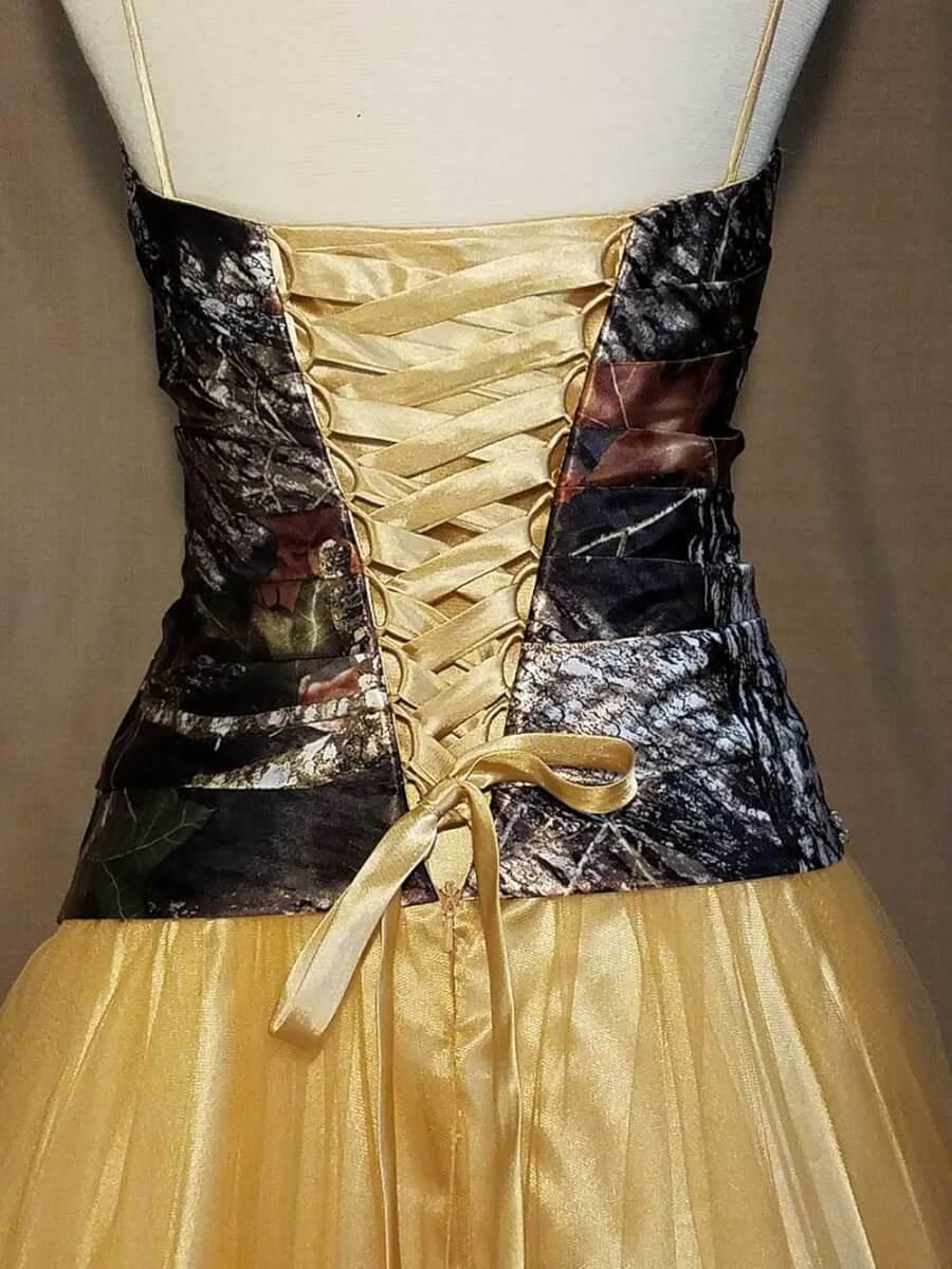 LCB006-IS-MOBU,LG-12 Isabella Bodice Back Camo Bridesmaid Dress (image)