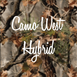 CWH Camo West Hybrid cropped named camo swatch (image)