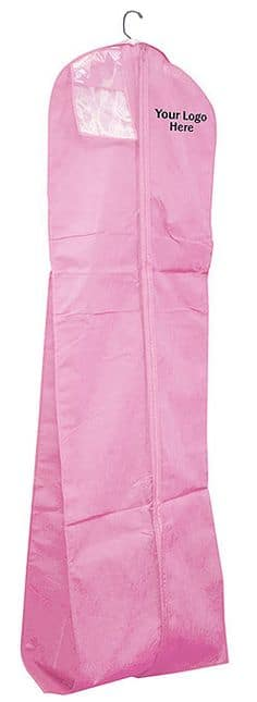 pink bridal garment bag (image)